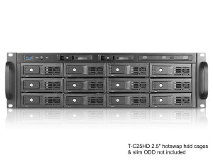 Industrial Chassis | iStarUSA Products | M-3120-ATX - 3U 3 5